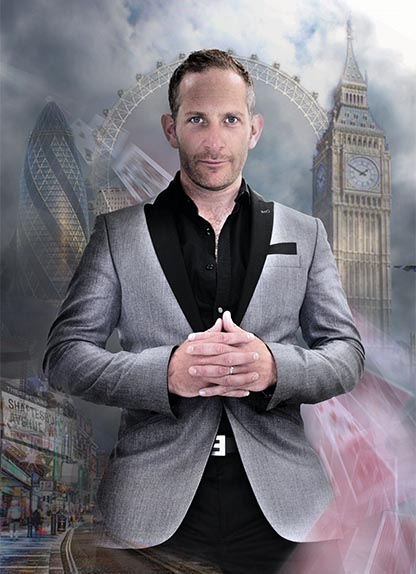 London Magician Adam Heppenstall