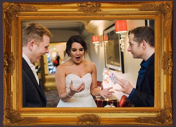 Amazing, Close Up Magic, wedding