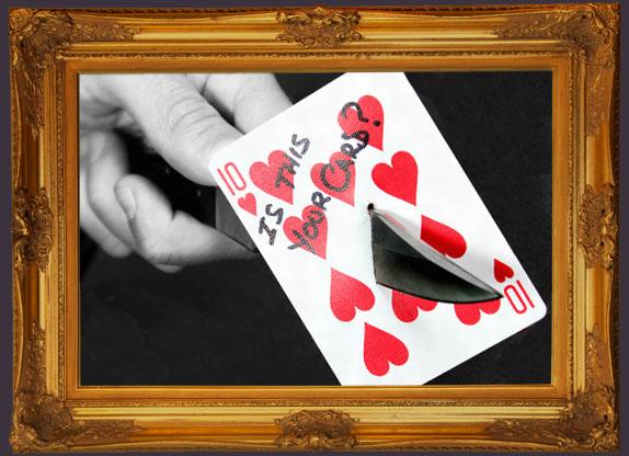 Card Trick, Magic, Close Up Magic